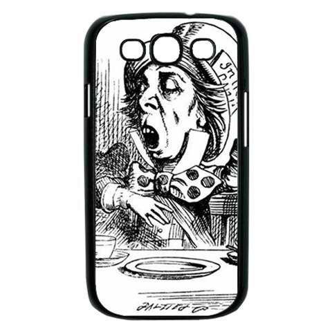 Mad hatter Samsung Galaxy S III Hard Case Black or by Casefriend, $16.99