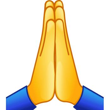 Praying Hands Praying Emoji Praying Hands Emoji Funny Emoticons