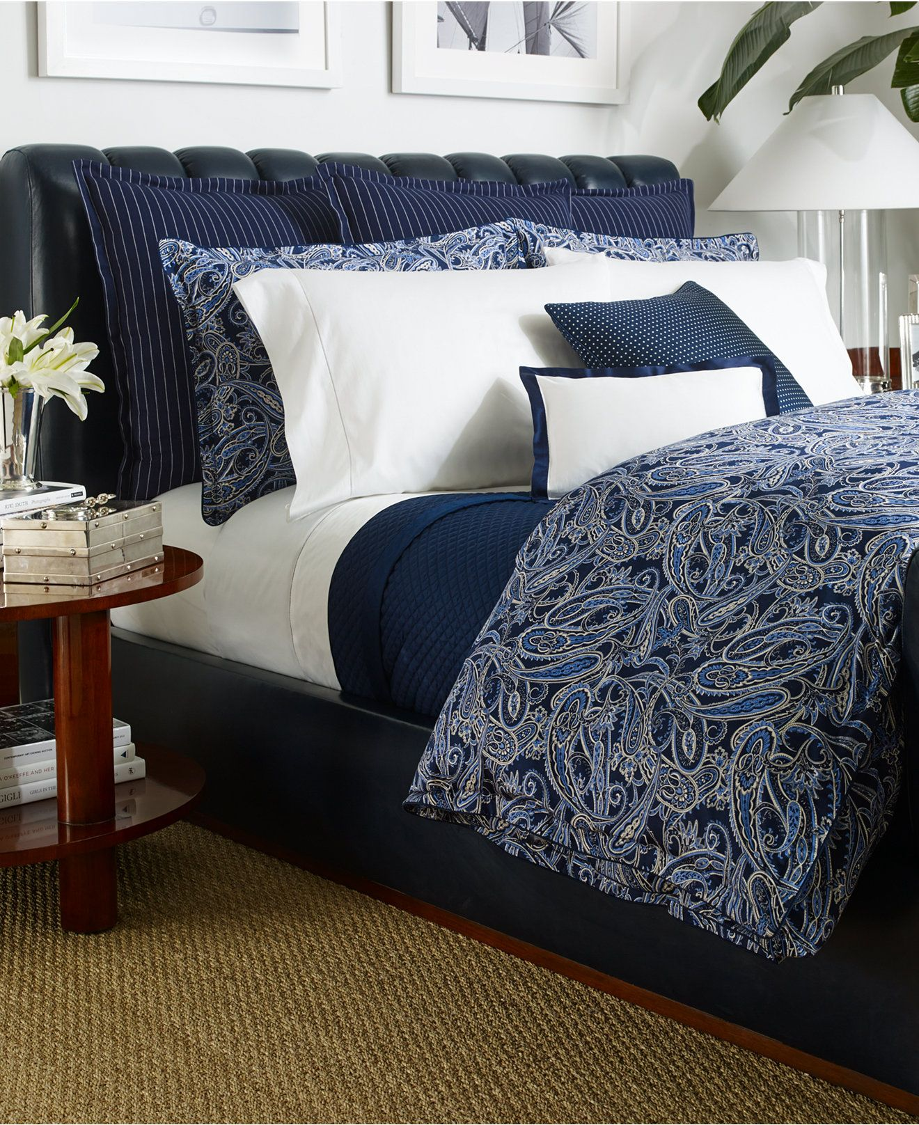 ralph lauren costa azzurra collection - bedding collections - bed