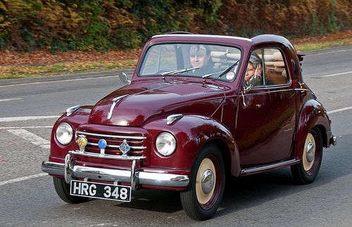 1950 S 2 Door Fiat 500 C Topolino Classic Cars On The London To Brighton Route Fiat 500 Classic Cars Fiat