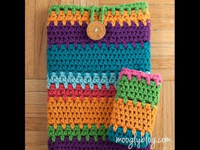 Lindo Estuche Para Celulartes Paso A Paso en Crochet   Proyectos a ...