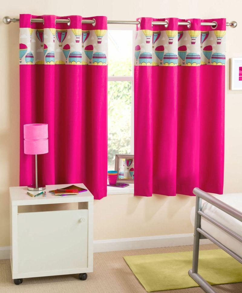 Popular Kinderzimmer f r kleine M dchen schicke Gardinen in Pink