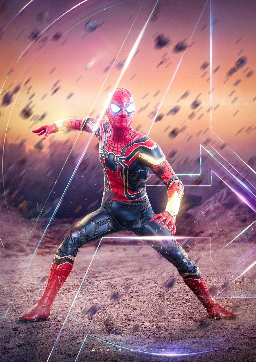 Spiderman Avengers Infinity War Majd Khatib Marvel Spiderman