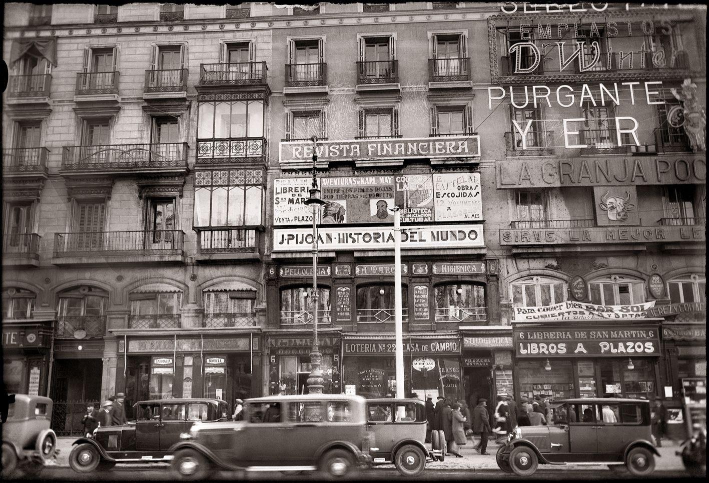 Diego gonz lez ragel puerta del sol madrid 1928 for Cc puerta del sol