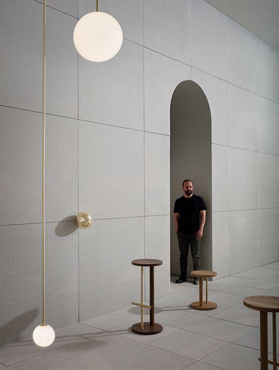 Michael Anastassiades within the installation