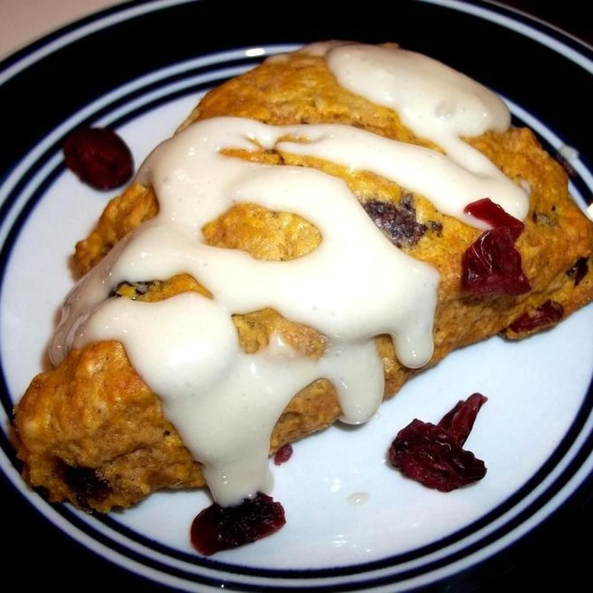 Pumpkin Cranberry Scones Recipe Cranberry scones