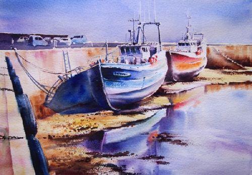 Pas A Pas Port Mare Basse Accessible Aquarelle Marichalar