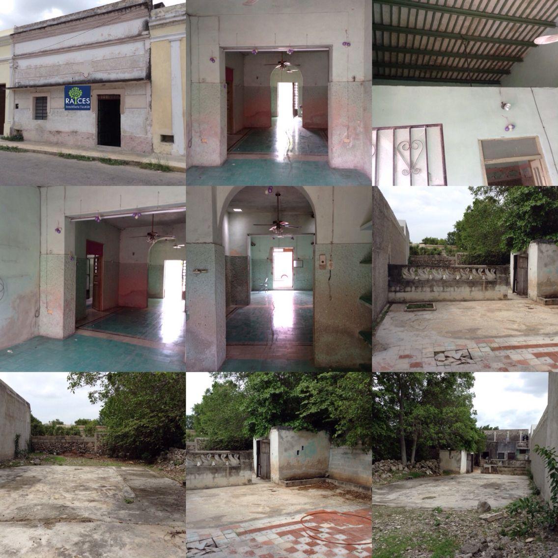 Casa Colonial Para Restaurar En Venta En El Centro De Merida Yucatan Mexico La Propiedad Cuenta Con Una Superficie Casa Colonial Casa Ideal Casas Coloniales