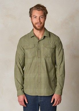 Cargo Green Citadel Shirt | Men > Tops > Shirts