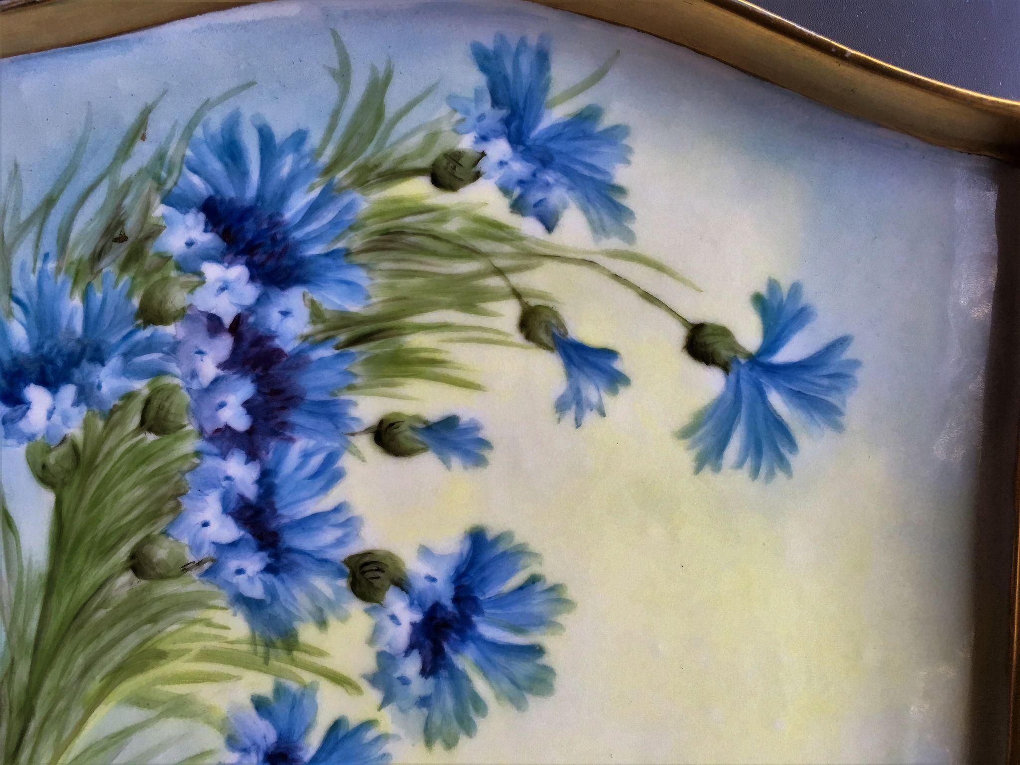 Limoges, France, hand painted Dresser Tray