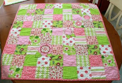 Sew Much 2 Luv: My little Sofia's Quilt is done :)