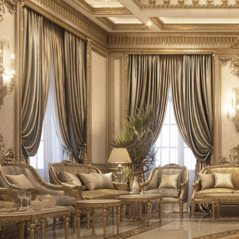 Max Classical Vip Reception With Images Luxury House Interior