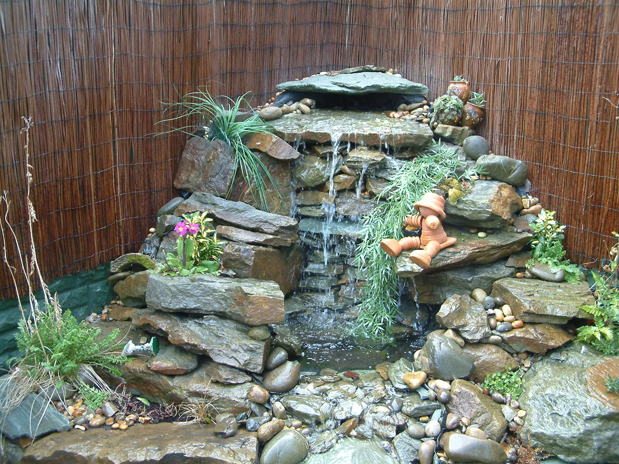 Water Features Liverpool Abellandscapes Co Uk Waterfalls Backyard Outdoor Water Features Water Features