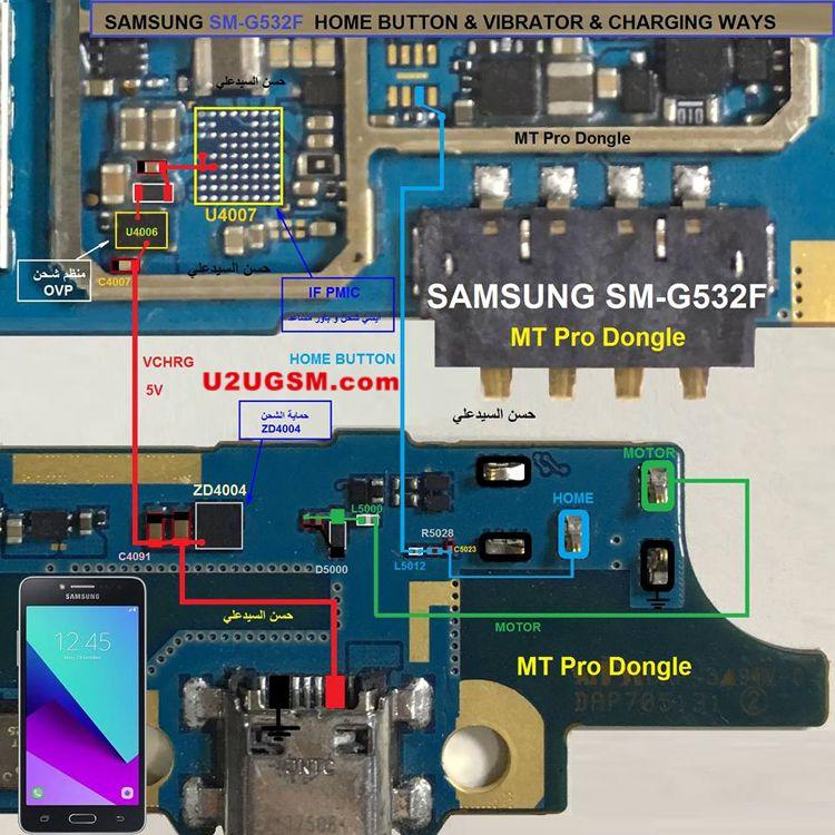 Samsung Galaxy Grand Prime Plus G532F Charging Problem Solution