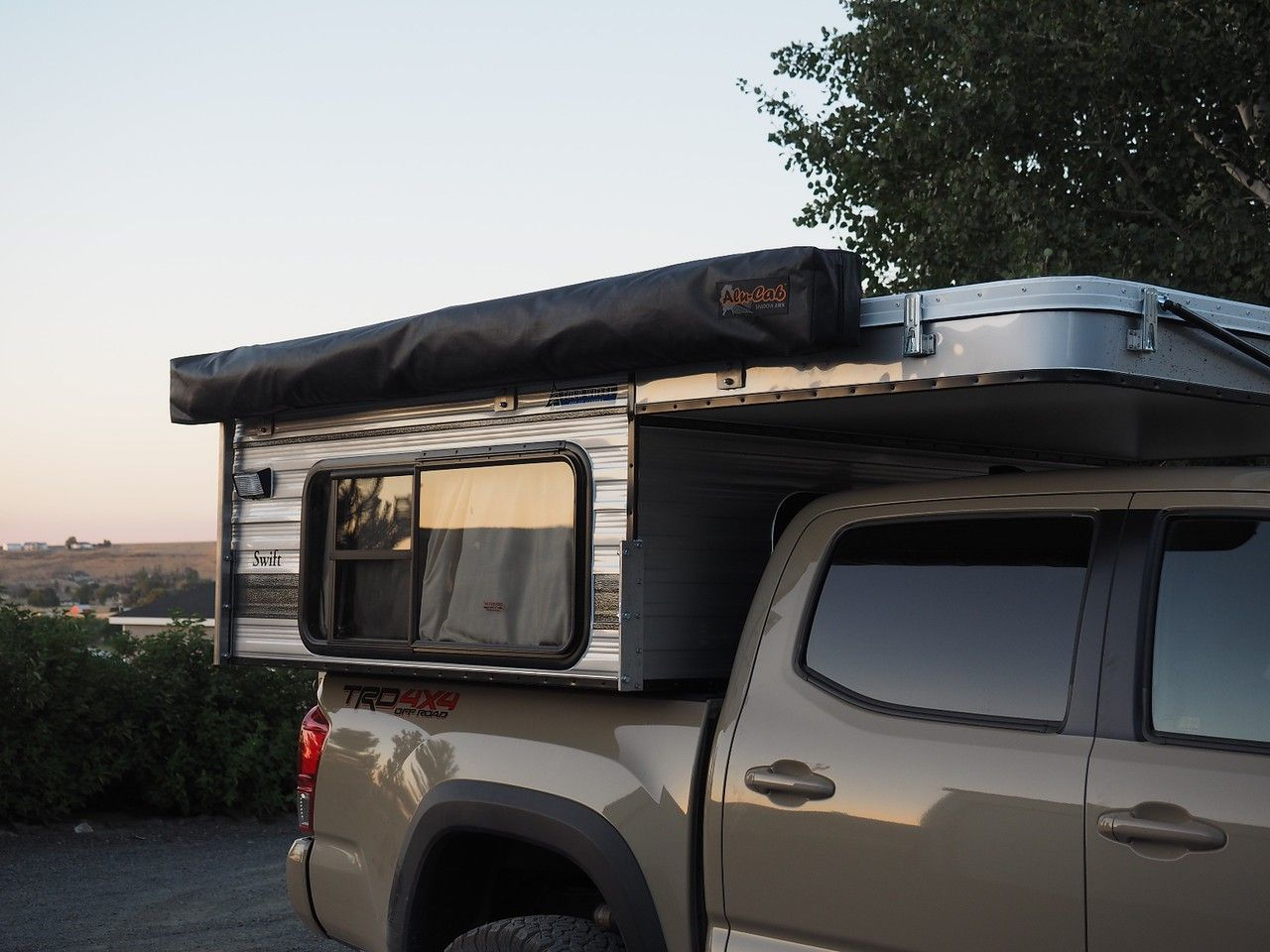 Fully Built Adventure Ready Tacoma and Four Wheel Camper