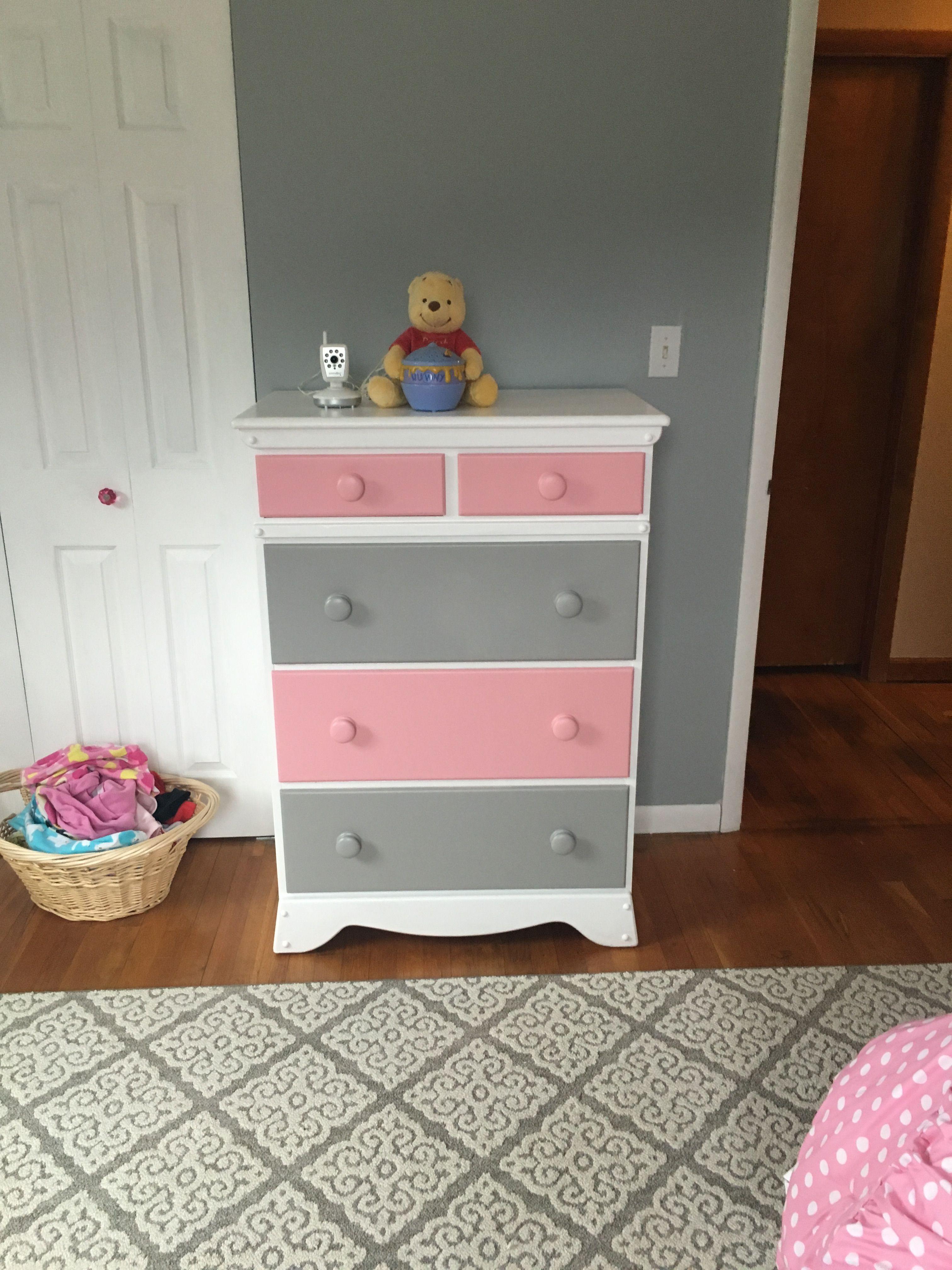 Best Repainted Dresser For Little Girl S Room Kids Dressers 640 x 480