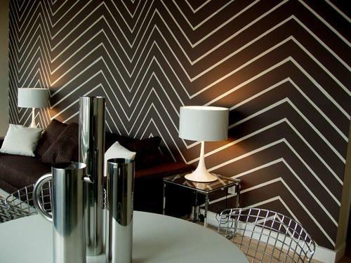 Spotlight On Mark Chamberlain Zig Zag Wall Home Interior