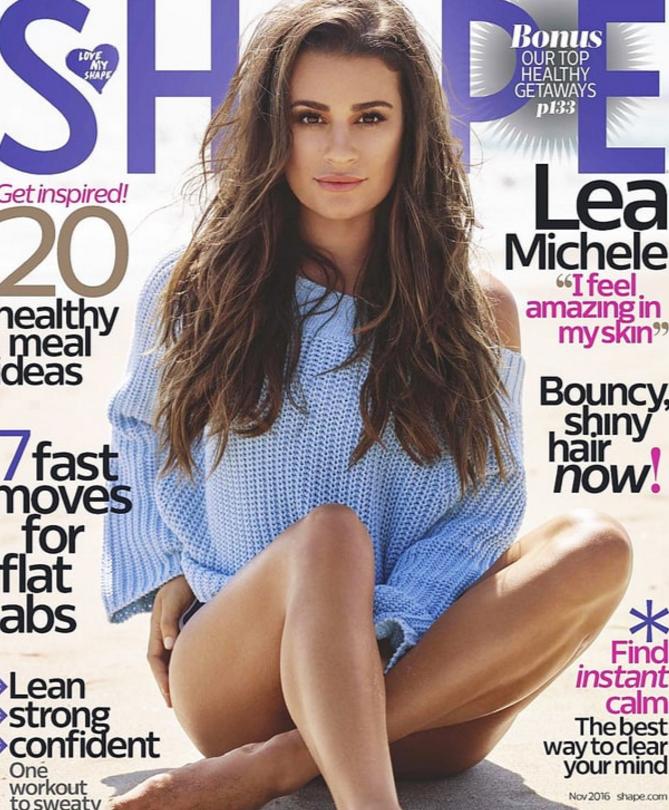 Lea Michele wearing 525 America