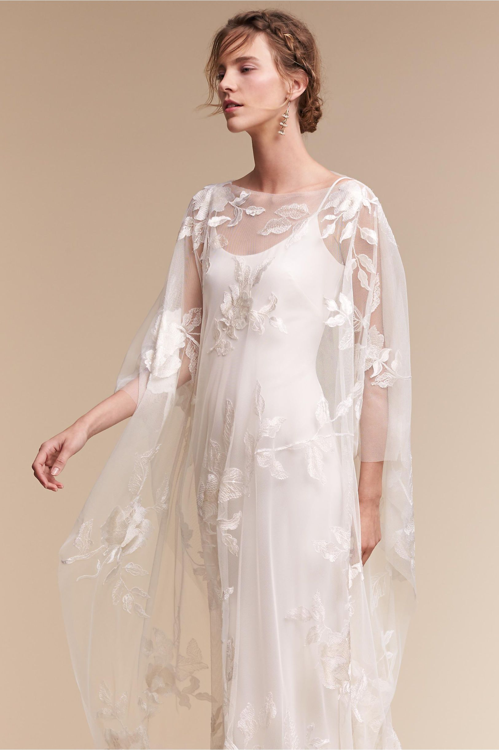 Bhldn Rhiannon Cape In Shoes Accessories Cover Ups Bhldn