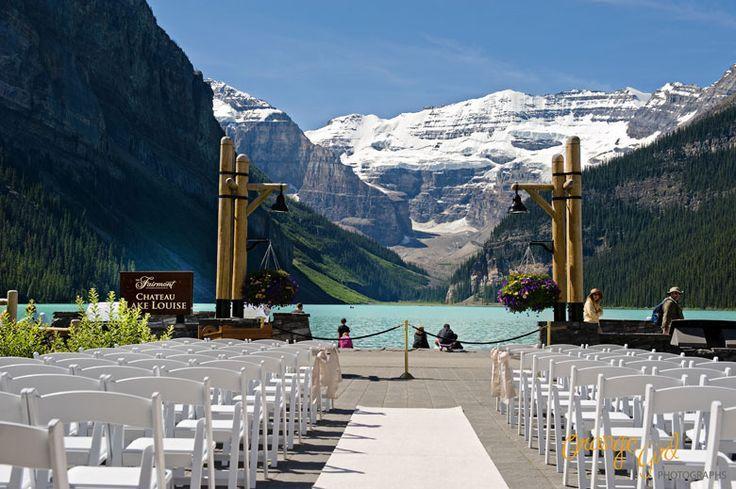 Fairmont Cau Lake Louise Wedding Venue