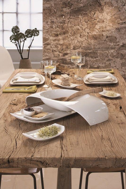 Villeroy & Boch Urban Nature servies. #tafelen #diner #eetkamer ...