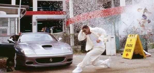 Ferrari 575m Maranello Driven By Will Smith In Bad Boys Ii Bad Boys Cars Movie Maranello