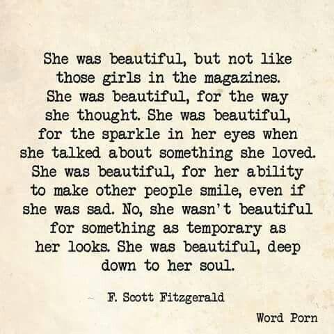 Beautiful F Scott Fitzgerald
