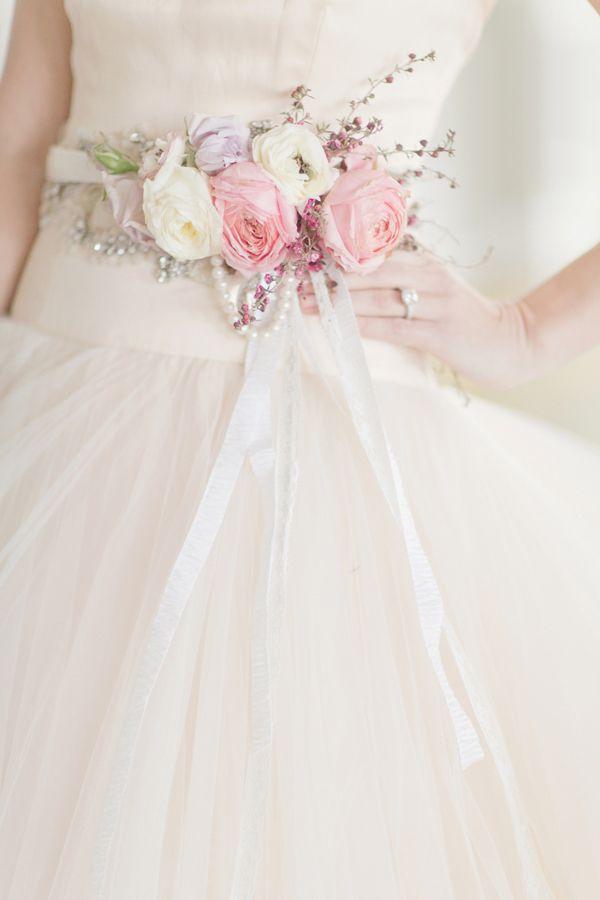 601066b21133a Glamorous Bridal Floral Inspiration | Nice however what | Wedding, Flower  belt, Wedding dresses