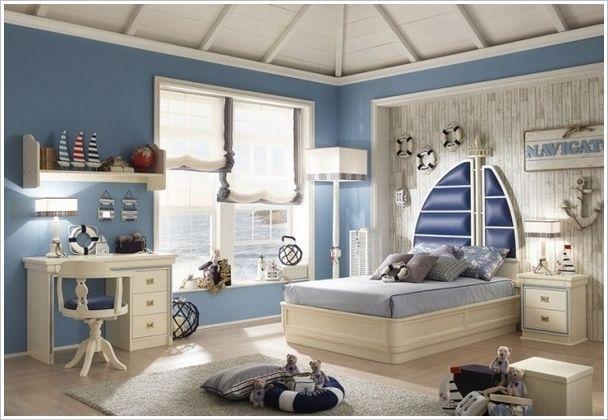 Maritimes Kinderzimmer ~ Wandgestaltung maritime tapete amazing interior design amazingly