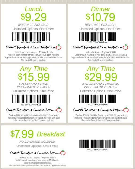 photo relating to Souplantation Printable Coupons identified as absolutely free Souplantation coupon codes canada for June Coupon Visuals