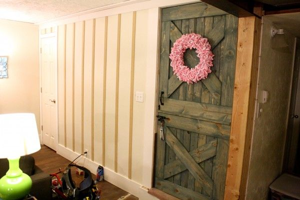 Remodelaholic Board And Batten Wall Tutorial Board And Batten Batten Wall Design