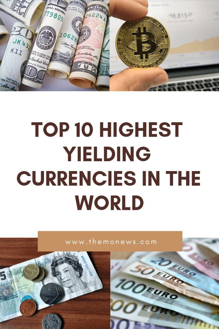 10 Highest Yielding Currencies In The World Where to