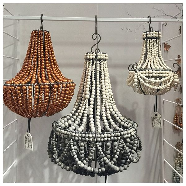 Hand Rolled Clay Beaded Chandeliers By Hellooow Handmade