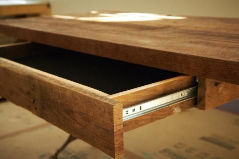 homemade office desk.  Office How To Build A Reclaimed Wood Office Desk  Howtos DIY On Homemade O
