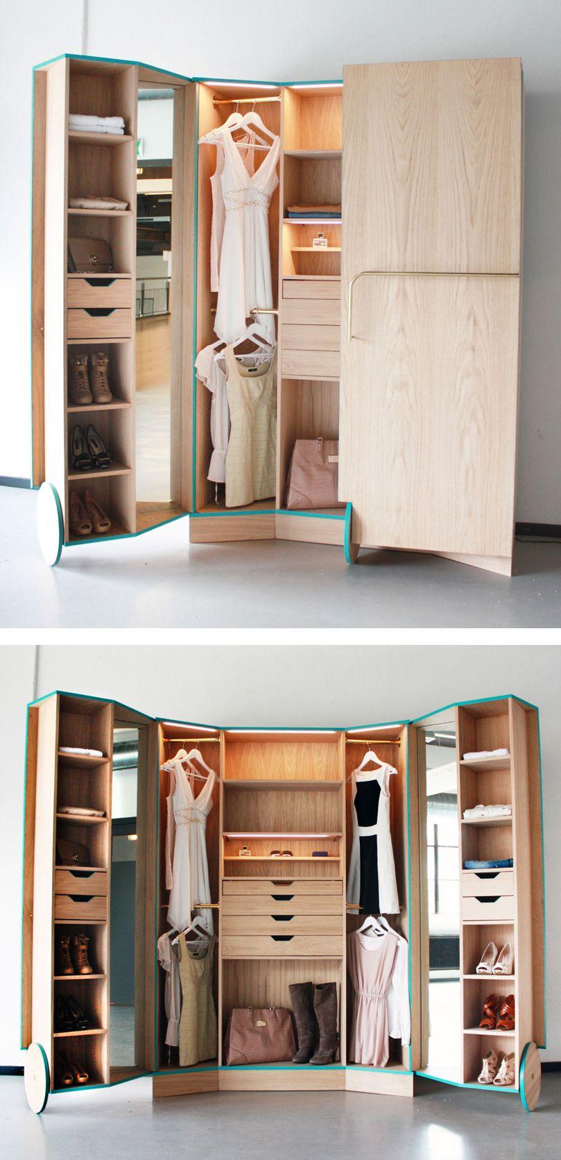 Portable Walk In Closet  Closets  Clothing Organization