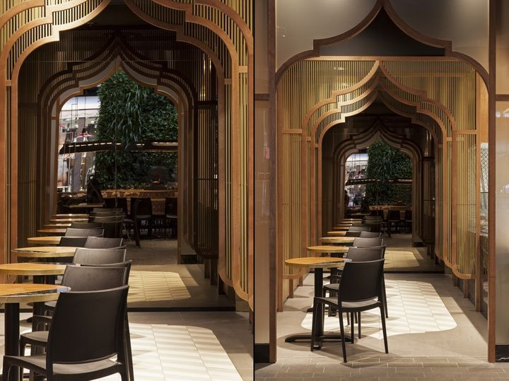 MUMBAI EXPRESS Indian Restaurant By StudioMKZ Sidney Australia Retail Design Blog