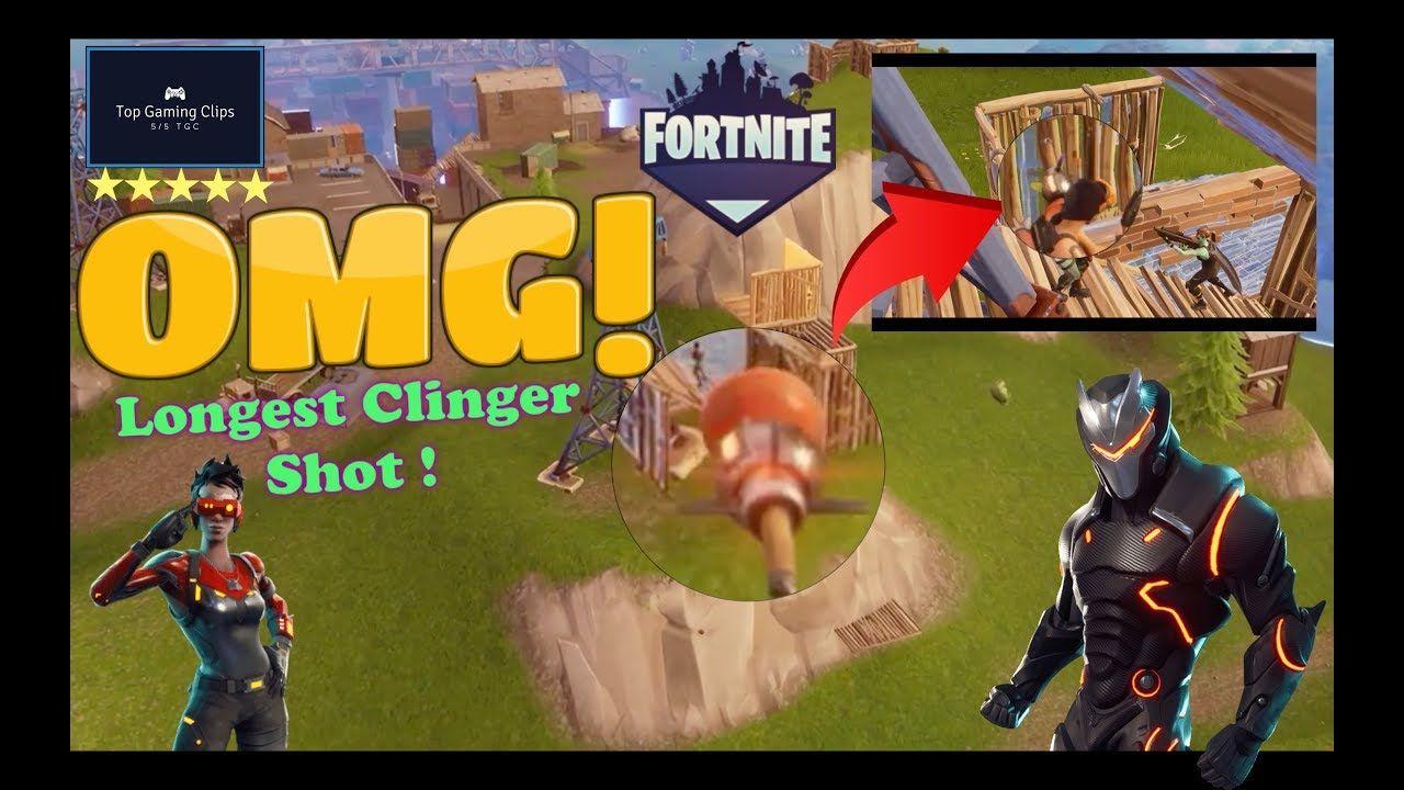 The Longest Fortnite Video Ever Insane Fortnite Longest Clinger Shot Battle Royale Epic Gameplay Funny Moments Ep 07 Funny Moments Fortnite Top Game