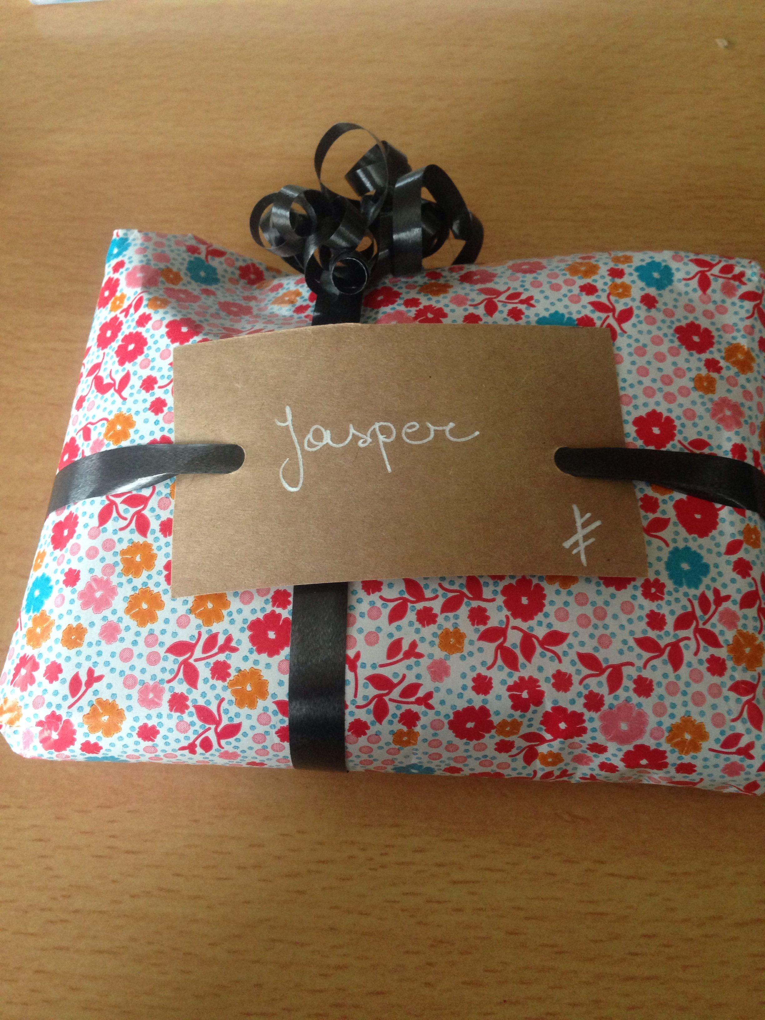 Cadeau voor Jasper #zelfgemaakt