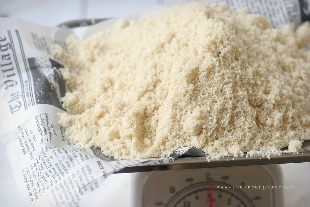The Urban Poser:: Almond Flour's Dirty Little Secret ?