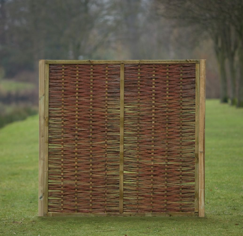 Willow fence panel cool decoration outdoor furniture fenzer willow fence panel cool decoration outdoor furniture fenzer quality fitted utility fence panels baanklon Choice Image