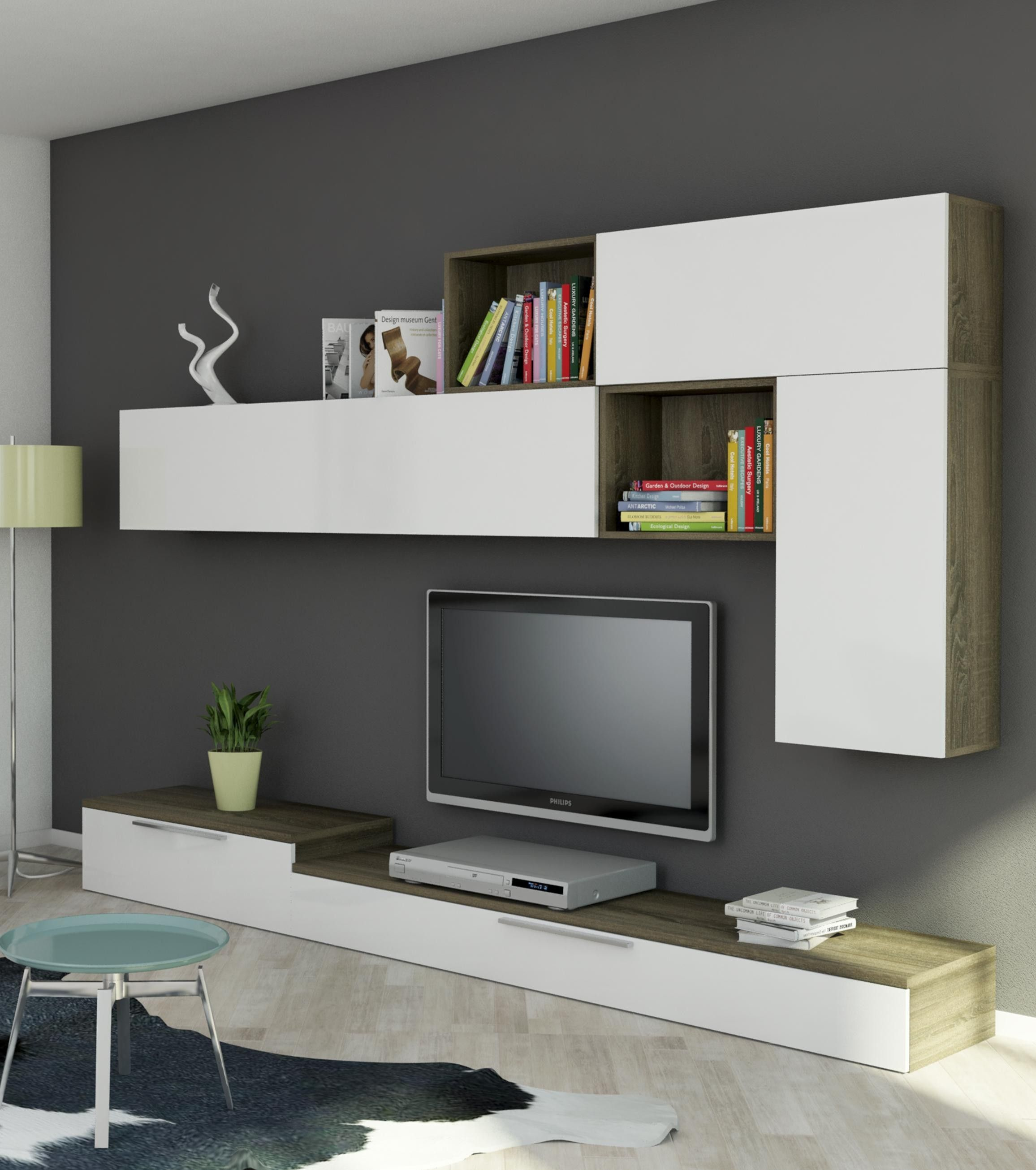 Compacto Tv Home Conforama Salones Pinterest Conforama Tv  # Meuble Tv Design Conforama