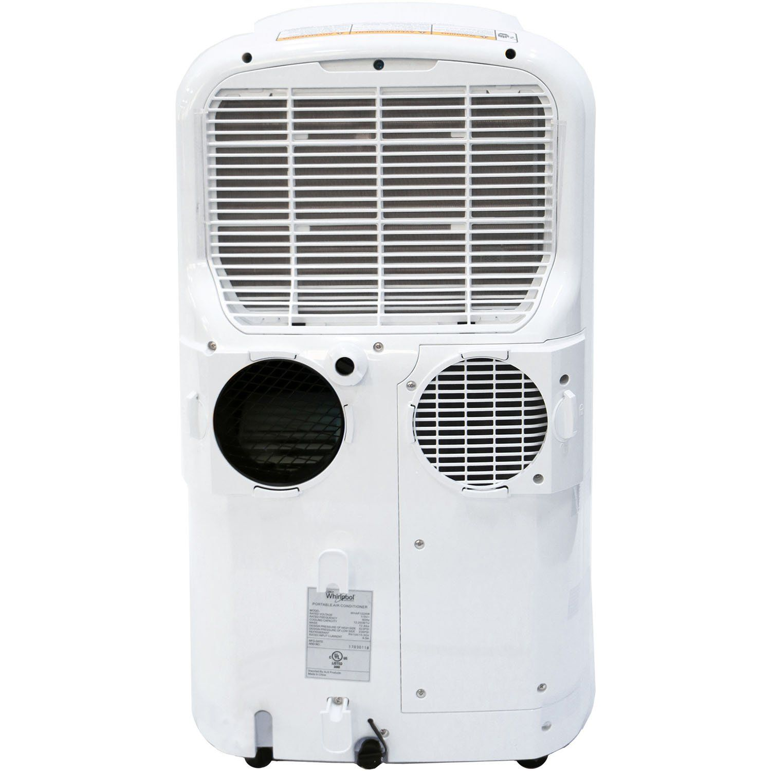 Whirlpool 14000 Btu Dualexhaust Portable Air Conditioner With Remote Control In White For More Information V Portable Air Conditioner Portable Ac Portable