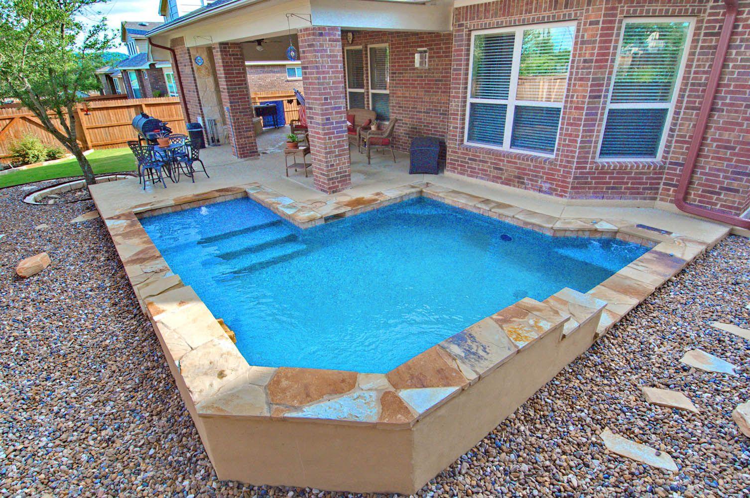 Small pool spool piscinas pinterest piscinas mini for Mini albercas