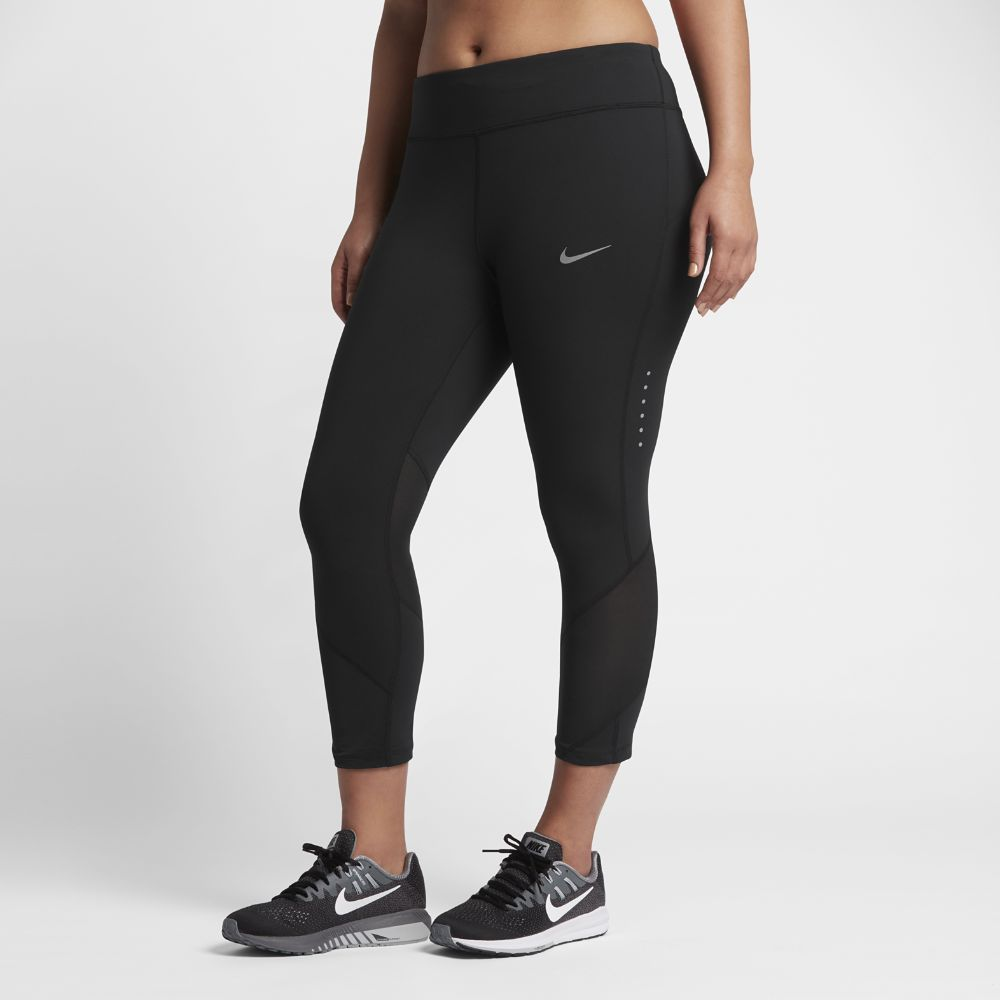 70943d71b186cf Nike Power Epic Lux (Plus Size) Women's Running Crops Size 3X (Black ...