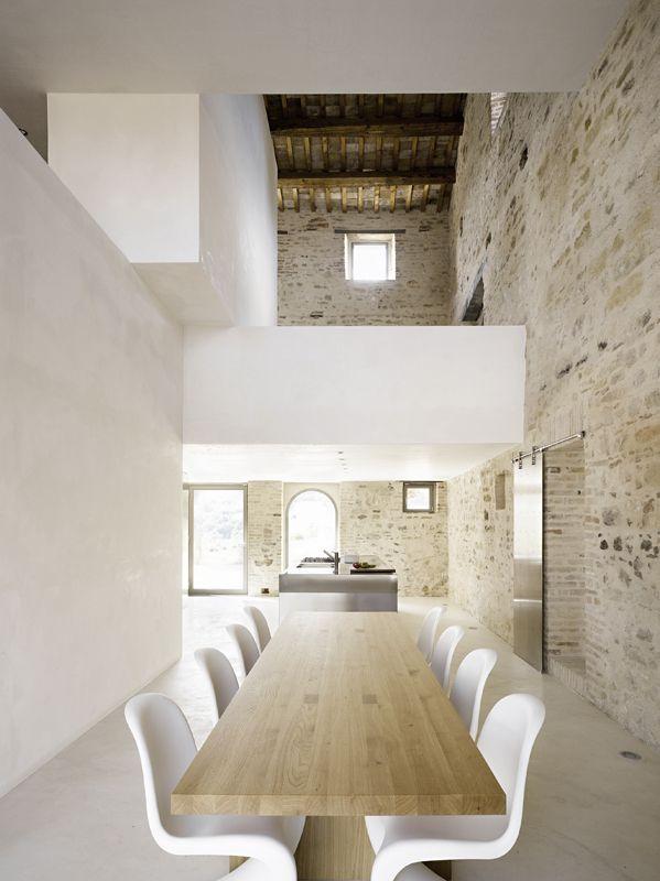 Old New Architecte Interieur Architecture D Interieur Murs En Briques Exposes