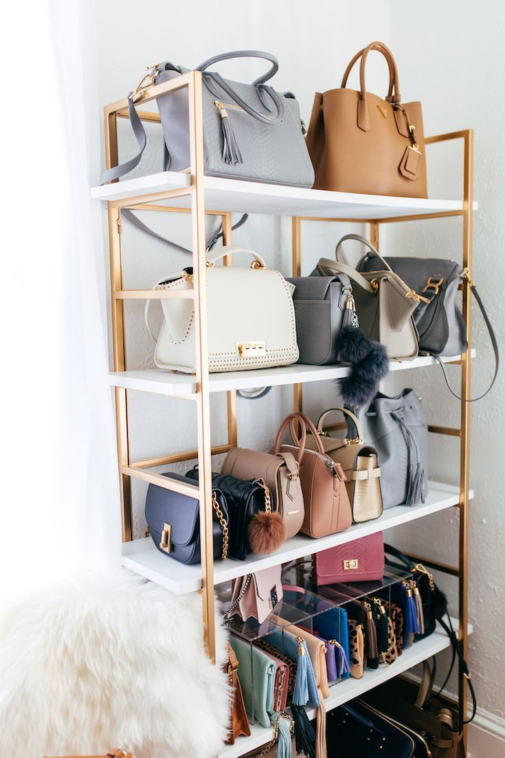 11 clever handbag storage ideas wohnen pinterest einrichten und wohnen einrichtung und. Black Bedroom Furniture Sets. Home Design Ideas