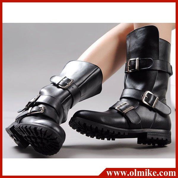 Free-shipping-fashion-style-lady-shoes-winter-motorcycle-riding ...