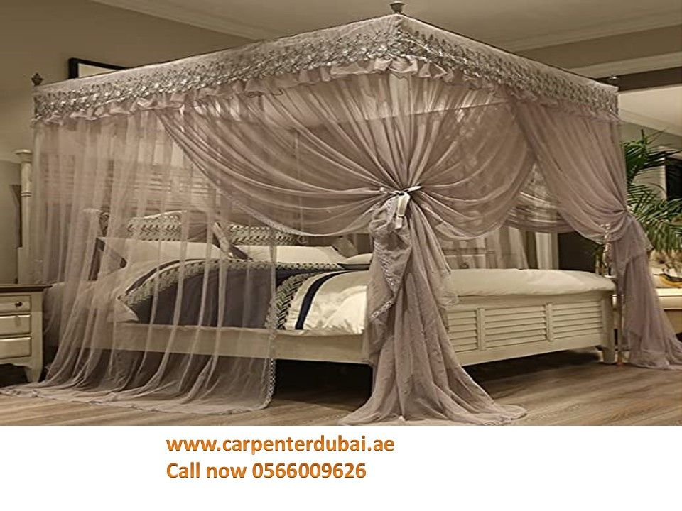 Pin On Bed Curtains In Dubai