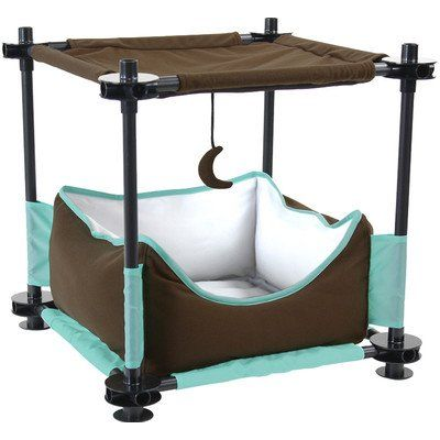 17 Sleeper Steel Cat Condo This Is An Amazon Affiliate Link Find Out More About The Great Product At The Image L Cat Bed Furniture Cat Condo Cat Furniture