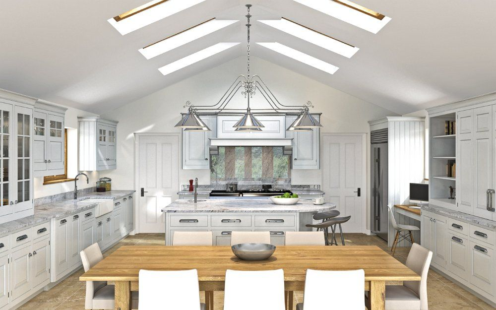 English Classic -  CGI kitchen for Mark Wilkinson Furniture